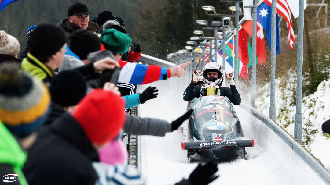 Zweimal Top 10 in Altenberg